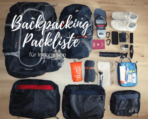Packliste Bali