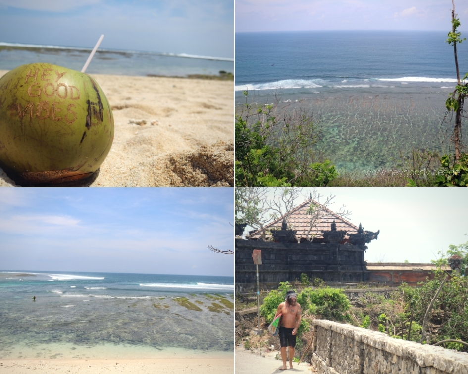 Bali Green Bowl Beach, Uluwatu Bukit Halbinsel