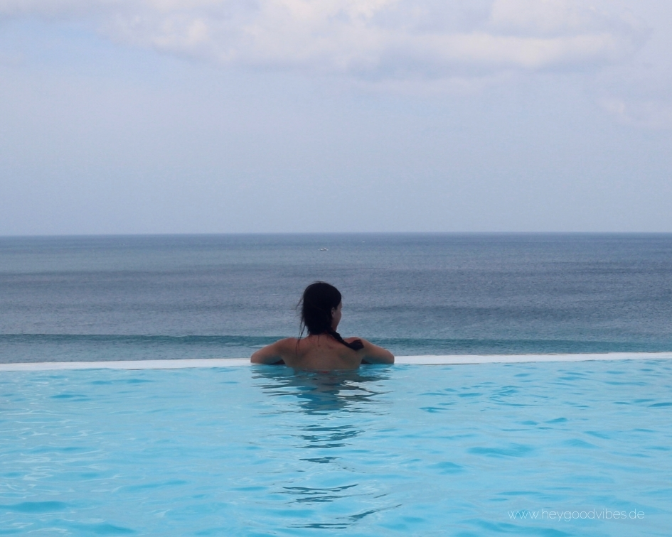 Infinity Pool Dreamland Beach Bali