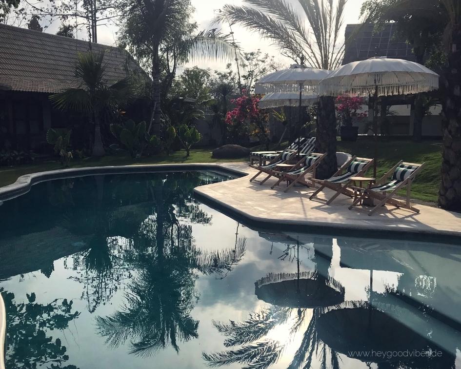Pool Bali Uluwatu Indonesien