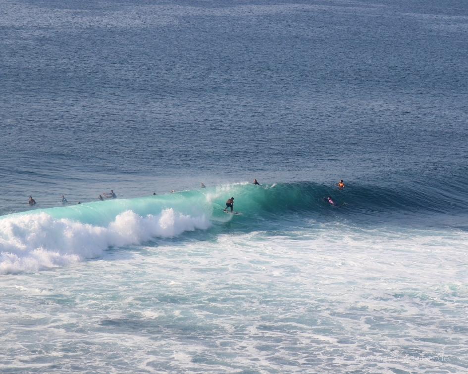 Surfen Uluwatu Bali Tube