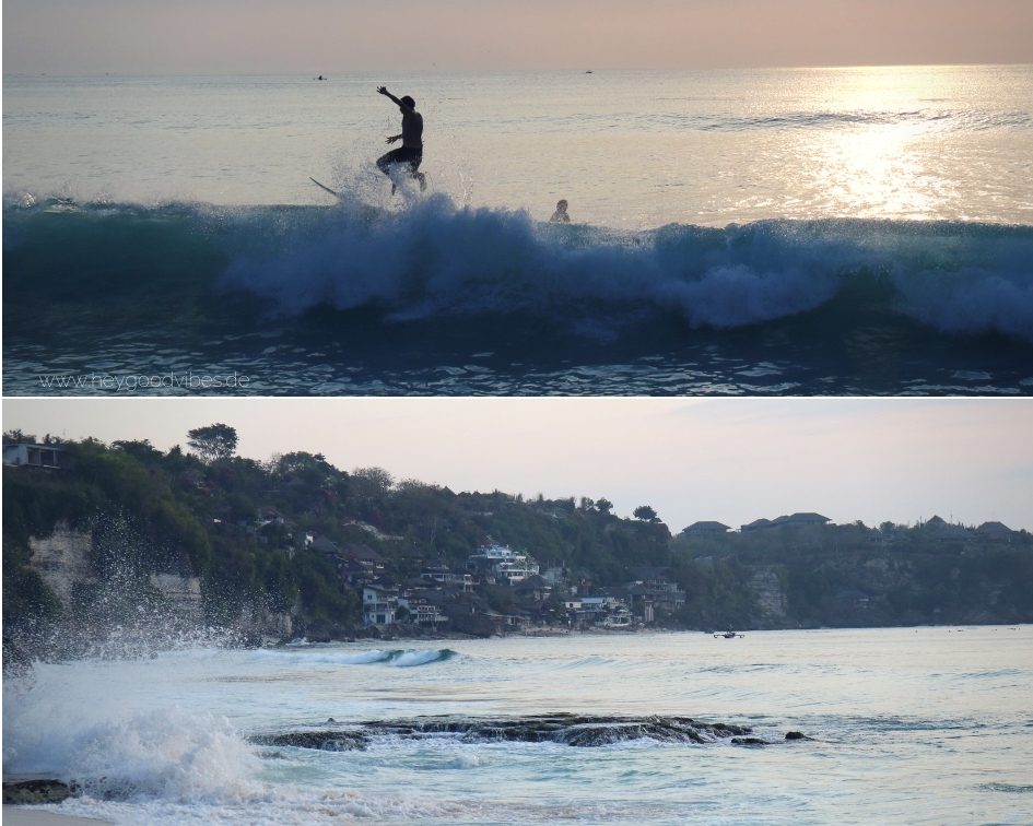 Bali Surfen Dreamland Beach, Uluwatu