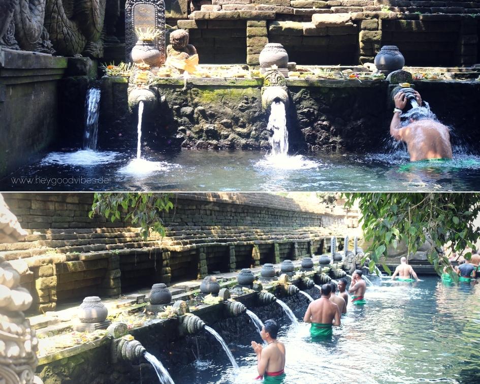 Tempel Bali heilige Quellen