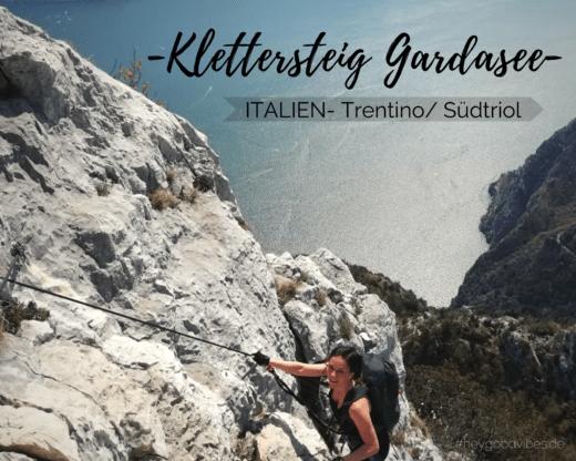 Klettersteig Gardasee Südtirol