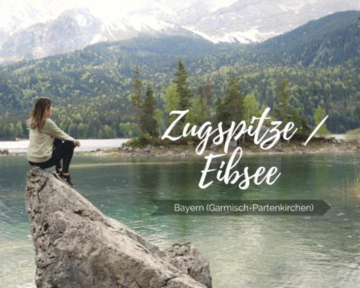 Zugspitze, Eibsee in Bayern