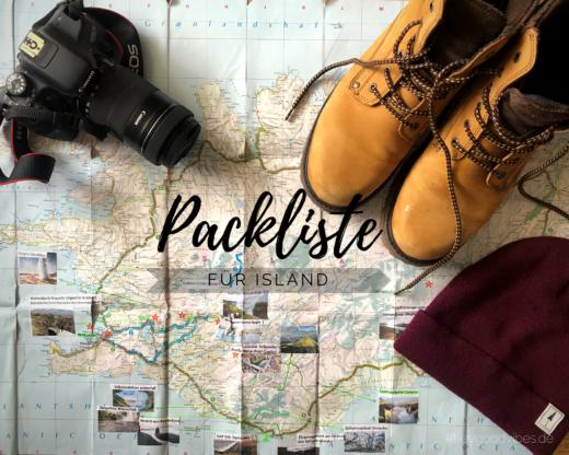 PACKLISTE für Island