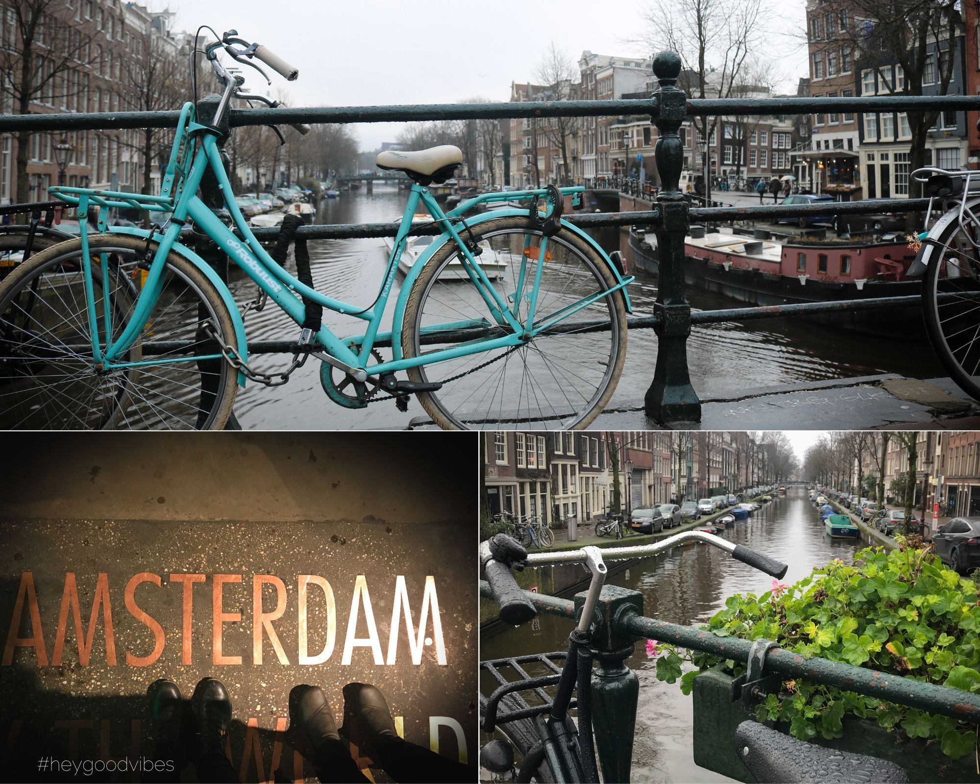 Amsterdam Fahrrad fahren