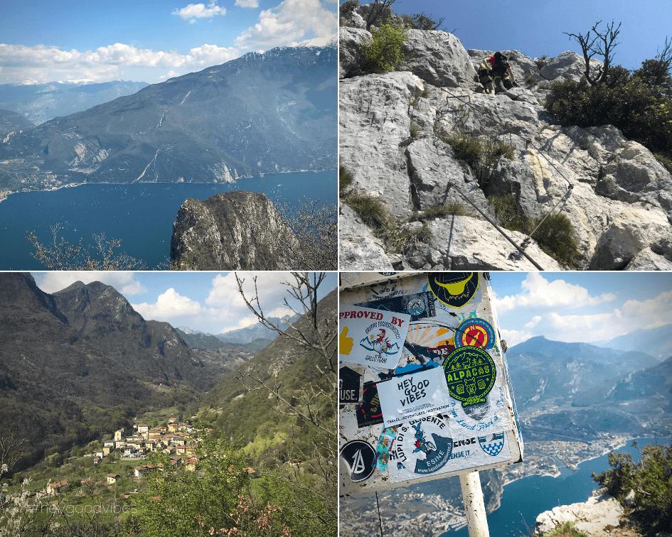 Bergsteigen Gardasee