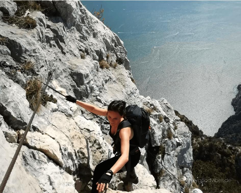 Klettersteig Gardasee Italien