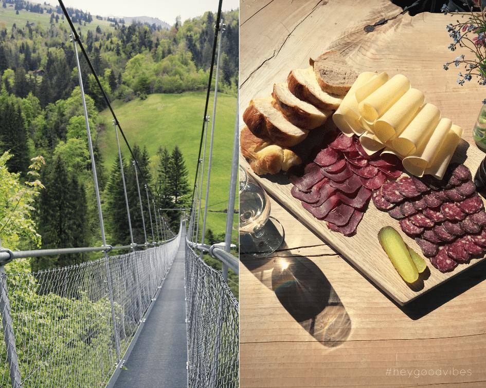 Hängebrücke Schweiz